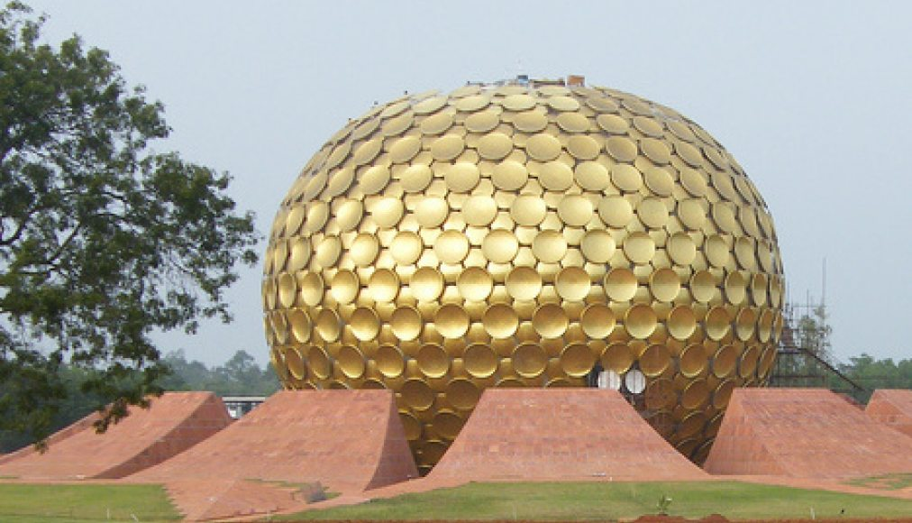 Auroville / ©Wikimedia Commons/sillybugger/CC BY 2.0